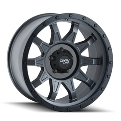 Dirty Life Wheels Roadkill 9301 - Matte Gunmetal w/Black Beadlock