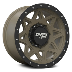 Dirty Life Wheels Theory 9305 - Matte Gold w/ Matte Black lip