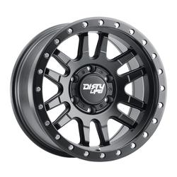 Dirty Life Wheels Canyon Pro 9309 - Matte Black with Black Lip Rim