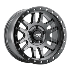 Dirty Life Wheels Canyon Pro 9309 - Satin Graphite with Black Lip Rim