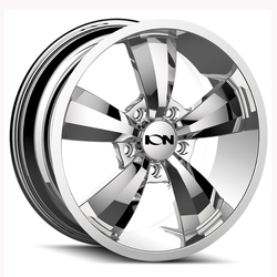 Ion Alloy Wheels 102 - Chrome Rim