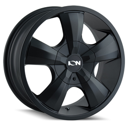 Ion Alloy Wheels 103 - Black Rim