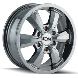 Ion Alloy Wheels 103 - Chrome Rim
