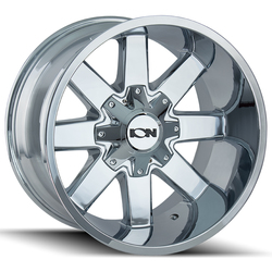 Ion Alloy Wheels 141 - Chrome - 20x10