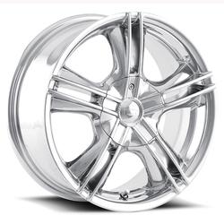 Ion Alloy Wheels 161 - Chrome Rim - 15x7