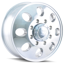 Ion Alloy Wheels 167 - Polished Rim