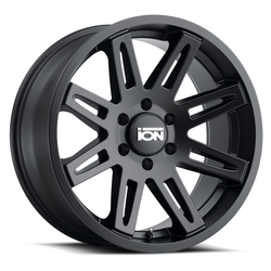 Ion Alloy Wheels 142 - Matte Black Rim