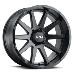 Ion Alloy Wheels 143 - Matte Black Rim