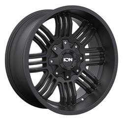 Ion Alloy Wheels 144 - Matte Black Rim