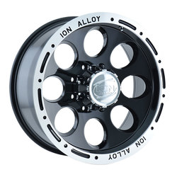 Ion Alloy Wheels 174 - Black Beadlock Rim