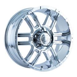 Ion Alloy Wheels 179 - Chrome Rim - 20x9