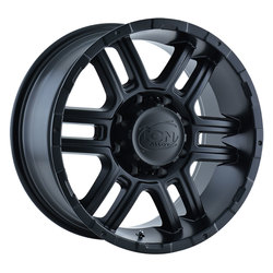 Ion Alloy Wheels 179 - Matte Black Rim
