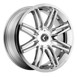 Kraze Wheels KR141 Cray - Chrome Rim