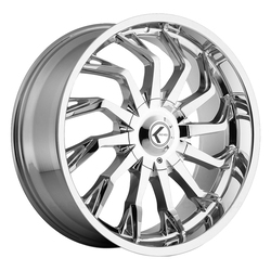 Kraze Wheels KR142 Scrilla - Chrome Rim - 24x9.5