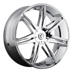 Kraze Wheels KR143 Epic - Chrome Rim - 24x9.5