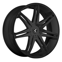 Kraze Wheels KR143 Epic - Satin Black Rim - 24x9.5