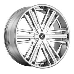 Kraze Wheels KR145 Hookah - Chrome Rim