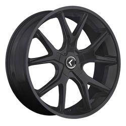 Kraze Wheels KR146 Spltz - Satin Black Rim