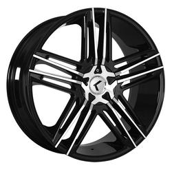 Kraze Wheels KR157 Hella - Black Machined Rim