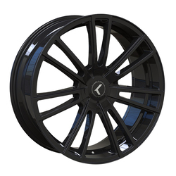 Kraze Wheels KR183 Spectra - Gloss Black Rim