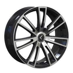 Kraze Wheels KR183 Spectra - Gloss Black Machined Rim