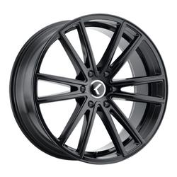 Kraze Wheels KR190 Lusso - Gloss Black Rim