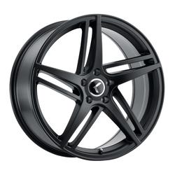 Kraze Wheels KR195 Milano - Satin Black Rim