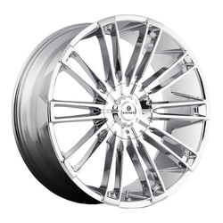 Kraze Wheels KR312 Inspire - Chrome Rim - 26x10