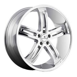 Kraze Wheels KR412 Ravish - Chrome Rim
