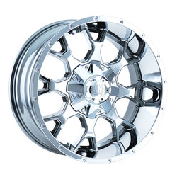 Mayhem Wheels 8015 Warrior - Chrome Rim