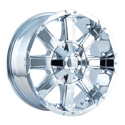 Mayhem Wheels 8030 Chaos - Chrome Rim