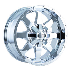 Mayhem Wheels 8040 Tank - Chrome Rim