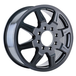 Mayhem Wheels 8101 Monstir Dually - Black Rim - 22x8.25