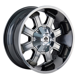 Mayhem Wheels 8103 Fierce - Chrome Rim