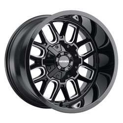 Mayhem Wheels 8107 Cogent - Gloss Black Milled Spokes Rim