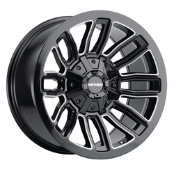 Mayhem Wheels 8108 Decoy - Gloss Black / Milled Spokes Rim