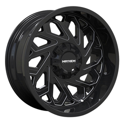 Mayhem Wheels 8112 Essex - Gloss Black/Milled Spokes Rim