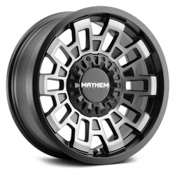 Mayhem Wheels 8113 Cortex - Matte Black w/Dark Tint Rim