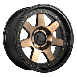 Mayhem Wheels 8300 Prodigy - Matte Black w/Bronze Tint Rim