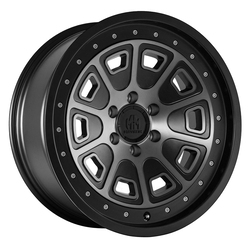 Mayhem Wheels 8301 Flat Iron - Matte Black w/Dark Tint Rim