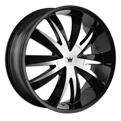 Mazzi Wheels Edge 337 - Gloss Black/Machined Face