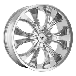 Mazzi Wheels Hustler 342 - Chrome Rim - 24x9.5