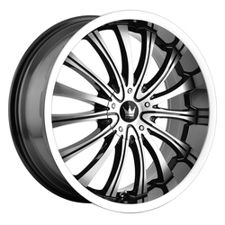 Mazzi Wheels Hype 351 - Gloss Black/Machined Face