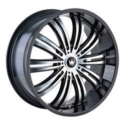 Mazzi Wheels Swank 363 - Black w/Machined Face Rim - 22x9.5