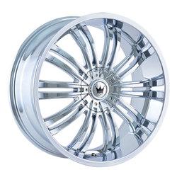 Mazzi Wheels Swank 363 - Chrome Rim - 22x9.5