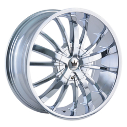 Mazzi Wheels Essence 364 - Chrome Rim - 24x9.5