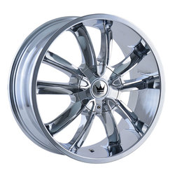 Mazzi Wheels Obsession 366 - Chrome Rim - 24x9.5