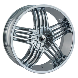 Mazzi Wheels Entice 368 - Chrome Rim - 24x9.5