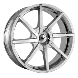 Mazzi Wheels Kickstand 369 - Chrome