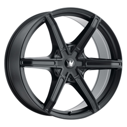 Mazzi Wheels Stilts 371 - Matte Black Rim - 24x9.5